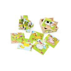 Кубики «Домашние животные» (в пенале)