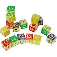 Кубики буквы, 16 шт.