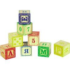 Кубики буквы, 8 шт.