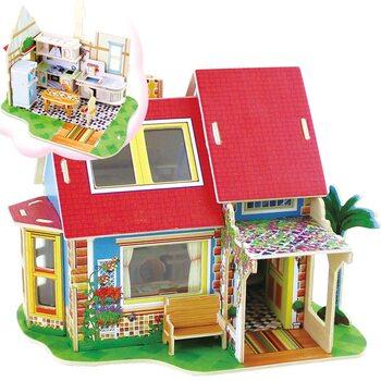 «Кухня», дом конструктор с мебелью, 81 дет.