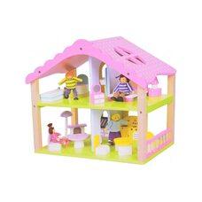Домик для кукол (2 этажа)
