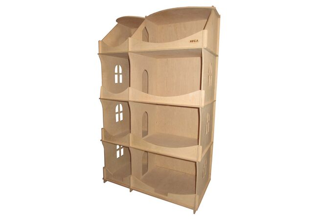 Домик-шкаф для кукол