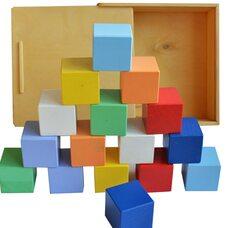 Цветные кубики, 16 шт.