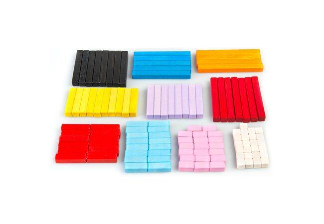 Цветные счетные палочки Кюизенера, 116 шт.