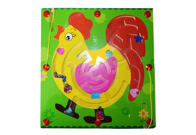 Магнитный лабиринт-игра «Петушок»