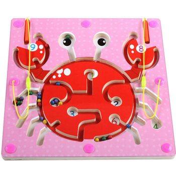Магнитный лабиринт-игра «Краб»