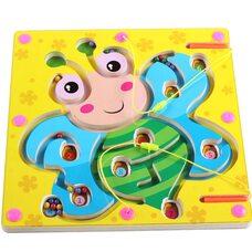 Магнитный лабиринт-игра «Бабочка»