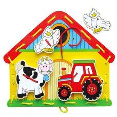 Шнуровка «Ферма» (Viga Toys)