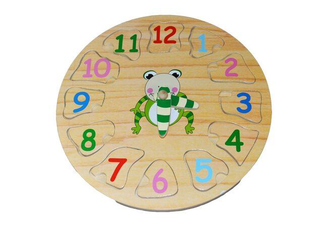 Часы «Лягушонок»