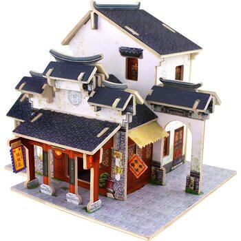 Магазин тканей (Китай), сборная модель, 41 дет.