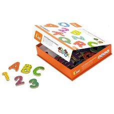 Набор магнитов «Буквы и цифры» (англ. алфавит)