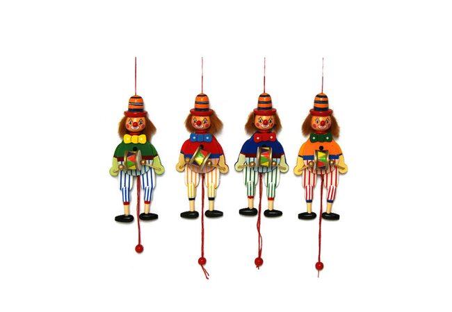 Марионетка «Клоун с барабаном»