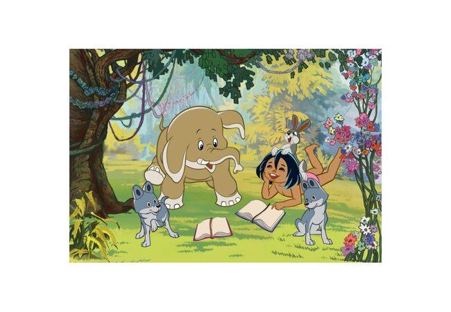 Пазл «Маугли», 12 дет.