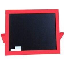 Настольный 2-х сторонний, магнитный мольберт (красный)