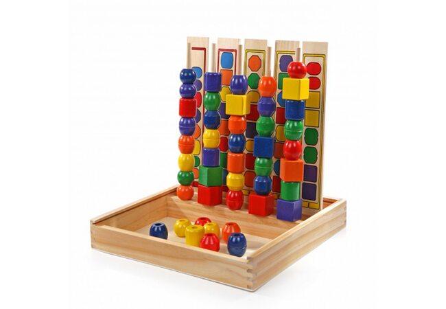 Набор для изучения основных цветов и форм