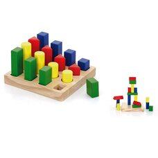 Игра «Цветные фигуры» Viga Toys