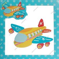 Магнитный пазл «Самолет»