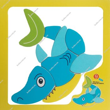 Магнитный пазл «Акула»