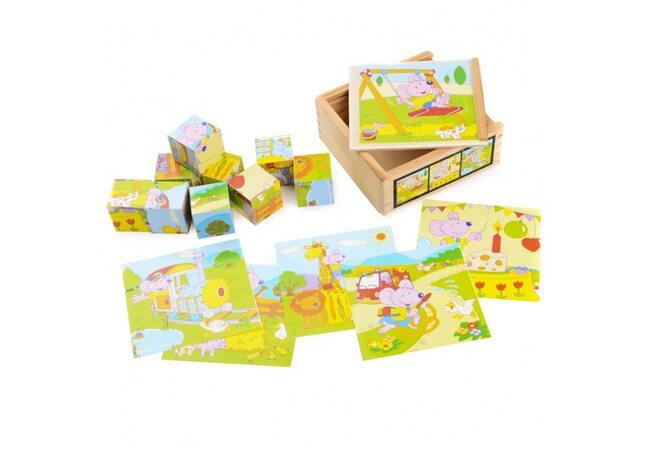 Кубики «Приключения Мышонка» (в пенале)
