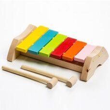 Деревянный ксилофон, 6 тонов