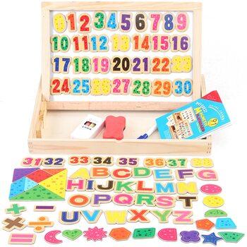 Магнитная игра «Буквы и цифры»