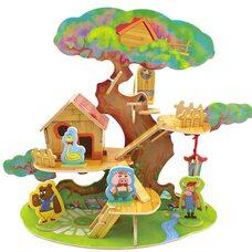 «Домик на дереве» конструктор, 46 дет.