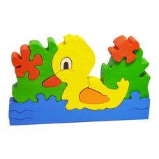 «На пруду» 3D пазл, 9 дет.