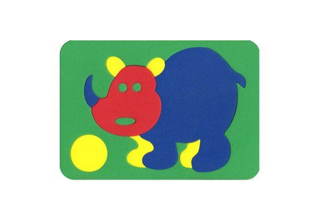 Мозаика «Носорог»