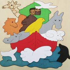 Мозаика «Ноев ковчег», двухслойная