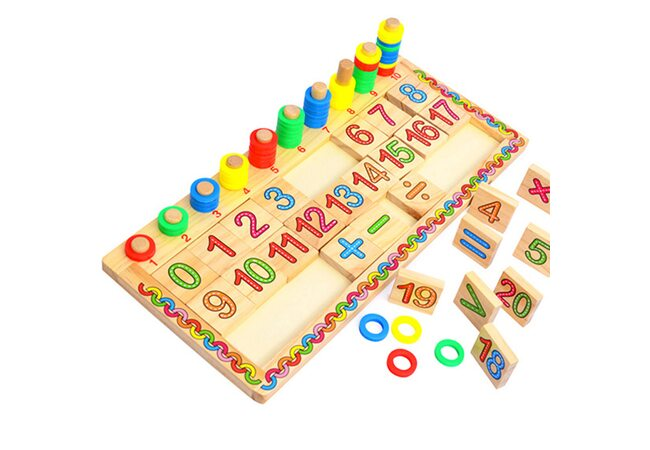 Набор для обучения счету и цветам №2.