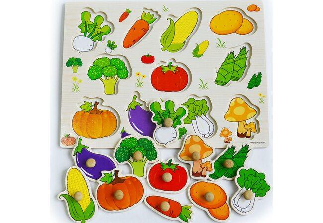 На грядке (овощи)