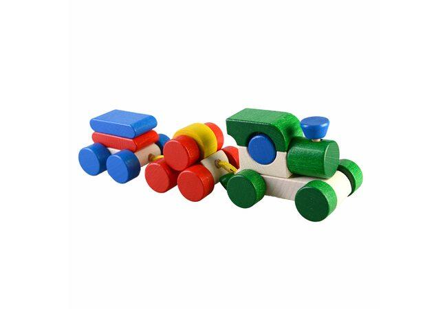 Деревянная игрушка «Паровоз»