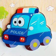 Объемный пазл-вкладыш «Полиция»