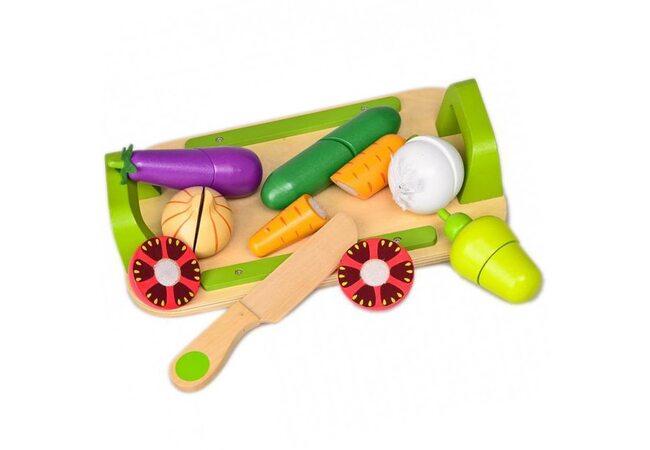 Набор разрезных овощей
