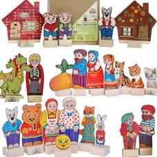 Серия фигурок персонажей детских сказок.
