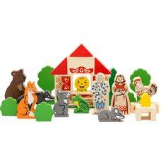 Игровые деревянные наборы Томик