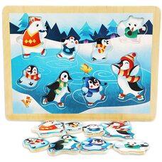 Вкладыши без держателей «Пингвины».