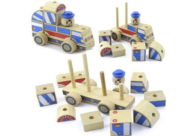 Автомобиль конструктор «Полиция»