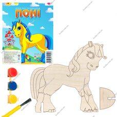 Раскраска «Пони»