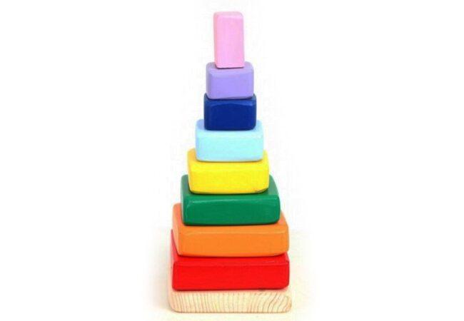 Пирамидка «Квадраты»