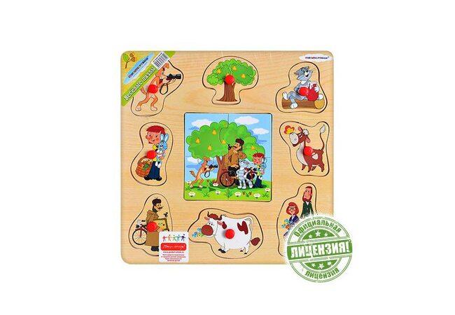 Пазл «Простоквашино» (для малышей)