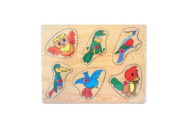 Рамка-вкладыш «Птицы»