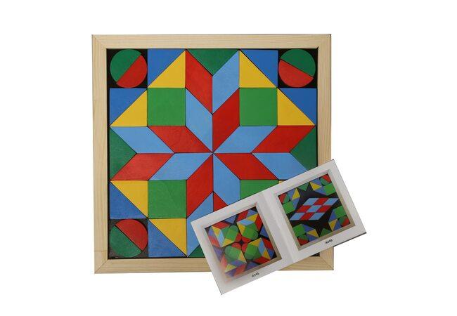 Мозаика «Геометрика», 4 фигуры