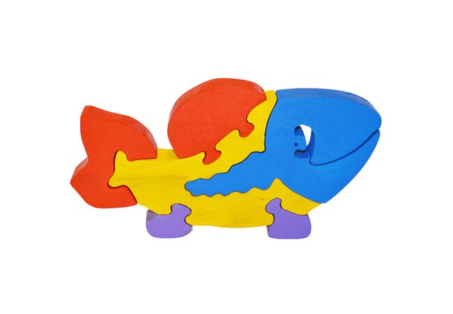 «Рыбка» 3D пазл, 5 дет.