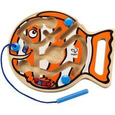 Магнитный лабиринт «Рыбка» для малышей