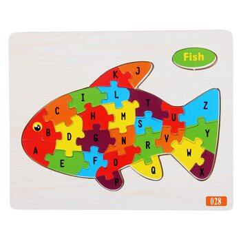 Пазл «Золотая рыбка», 26 дет