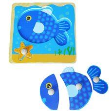 Объемный пазл «Рыбка»