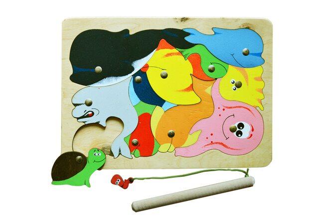«Океан», мозаика + рыбалка, 11 дет.