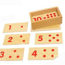 Материал для счета «Цифры и точки»
