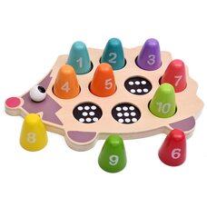Игра-ежик «Учимся считать»